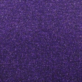 Tissu thermocollant paillettes violet
