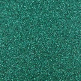 Tissu thermocollant paillettes vert impérial
