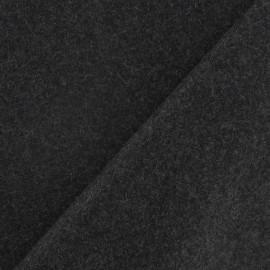 Tissu drap de laine gris x 10cm