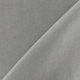 Tissu velours milleraies élasthanne beige x10cm