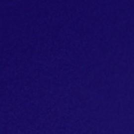 Tissu Thermocollant velours bleu