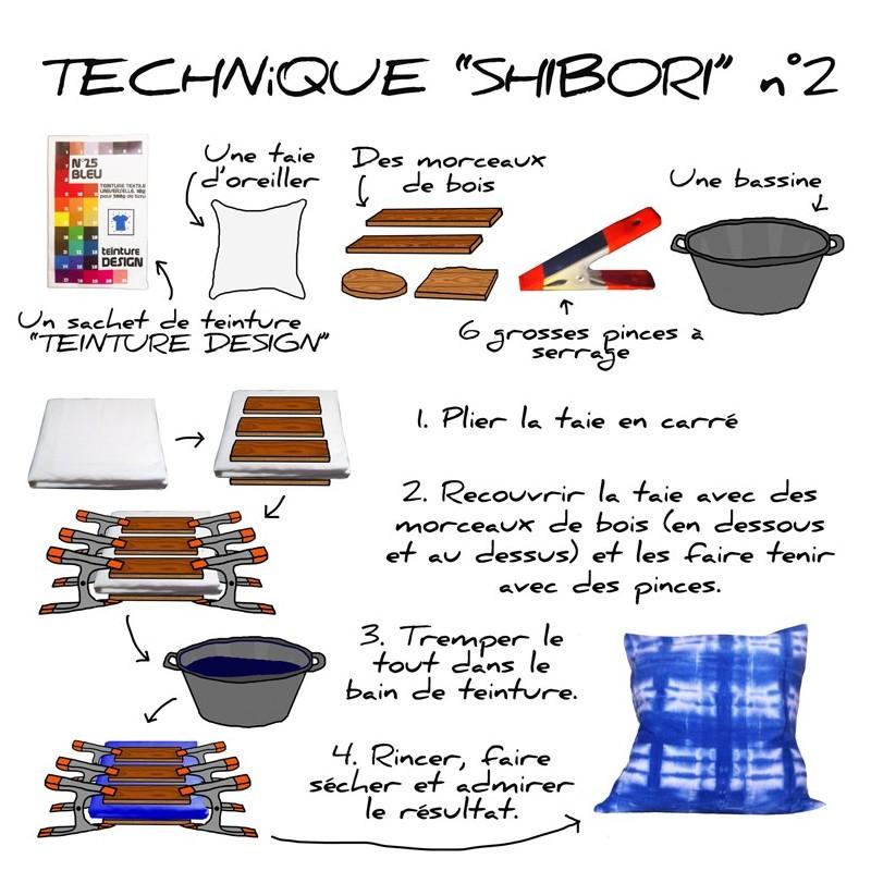 Teinture design textiles 31 couleurs au choix ma petite mercerie - Teinture pour tissus ...