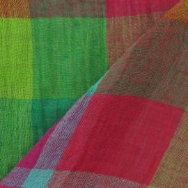 Tissu Lin Madras B x 10cm