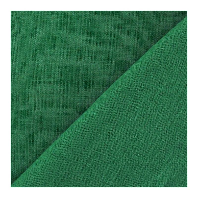 Tissu lin tissu lin vert malachite ma petite mercerie - Vert de malachite ...