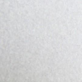 Tissu thermocollant velours blanc
