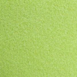 Tissu thermocollant velours anis