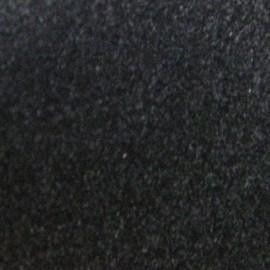 Tissu thermocollant velours noir
