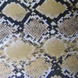Tissu thermocollant cobra