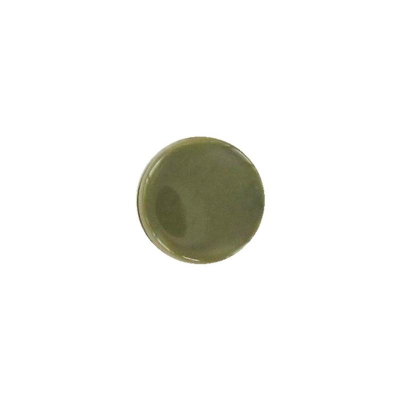bouton polyester mini rond vert mousse ma petite mercerie. Black Bedroom Furniture Sets. Home Design Ideas