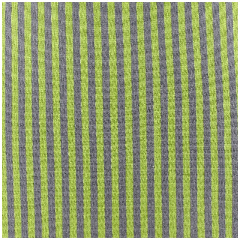 Tissu jersey rayures 4 mm anis taupe x 10cm ma petite - Taupe et vert anis ...