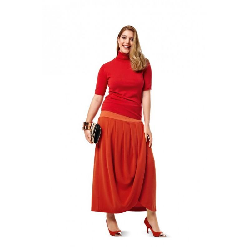 patron couture jupe burda