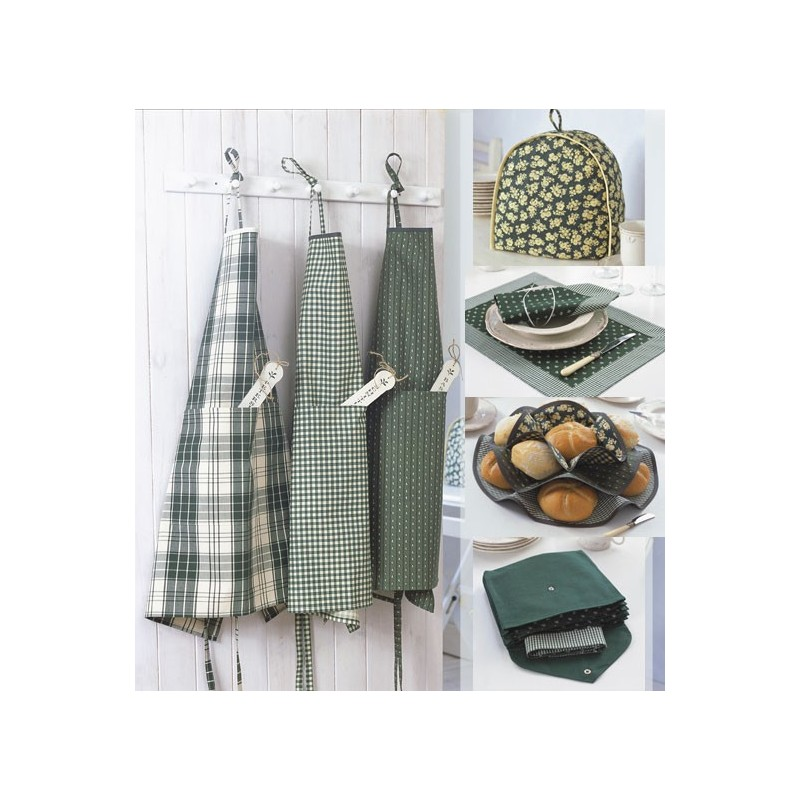 Patron burda patron accessoires de cuisine burda n 8125 for Accessoire de cuisine