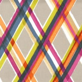 Tissu burling caramel x 10cm ma petite mercerie - Tissus bohemes colores ...