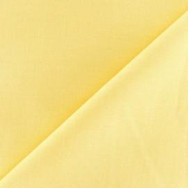 Tissu coton uni Reverie grande largeur (280 cm) jaune x 10cm