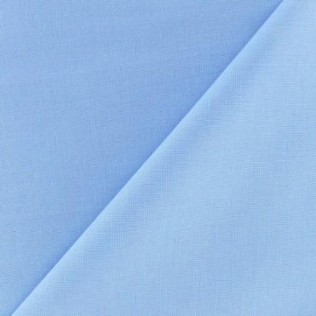 tissu coton uni reverie grande largeur 280 cm pervenche x 10cm ma petite mercerie. Black Bedroom Furniture Sets. Home Design Ideas