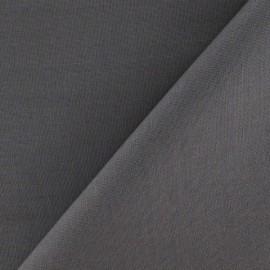 Tissu coton uni Reverie grande largeur (280 cm) plomb x 10cm