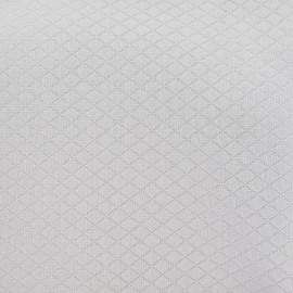 Tissu piqué Losange pierre x 10cm