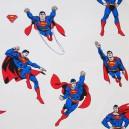Tissu coton Superman crème x 63cm