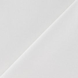 Tissu toile de coton uni Moutarde x 10cm