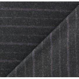 Tissu tailleur rayures Hugo x 10cm