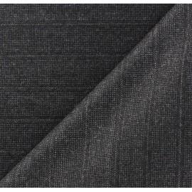 Tissu tailleur rayures Guy x 10cm