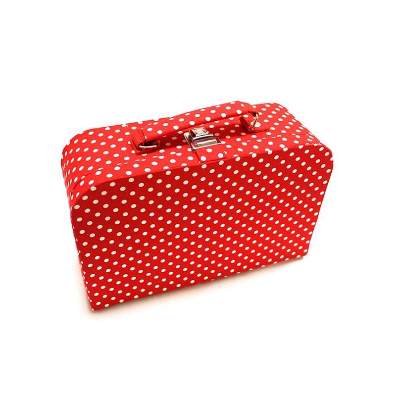 Grande bo te couture en tissu rouge ma petite mercerie for Boite couture tissu