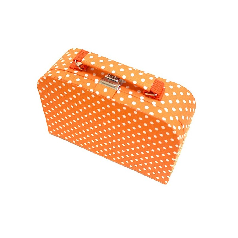 Moyenne bo te couture en tissu orange ma petite mercerie for Boite de couture enfant
