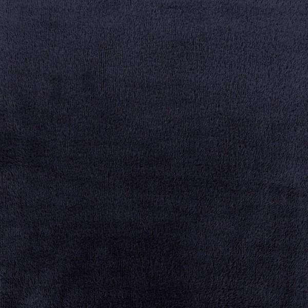 tissu sweat envers minkee marine x 10cm ma petite mercerie. Black Bedroom Furniture Sets. Home Design Ideas