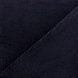 Tissu Velours éponge épais brun x 10cm