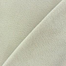 Tissu Velours éponge épais violet x 10cm