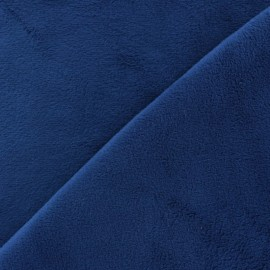 Tissu velours minkee doux ras Vert sauge x 10cm