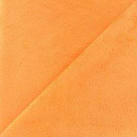 Tissu velours minkee doux ras Glycine x 10cm