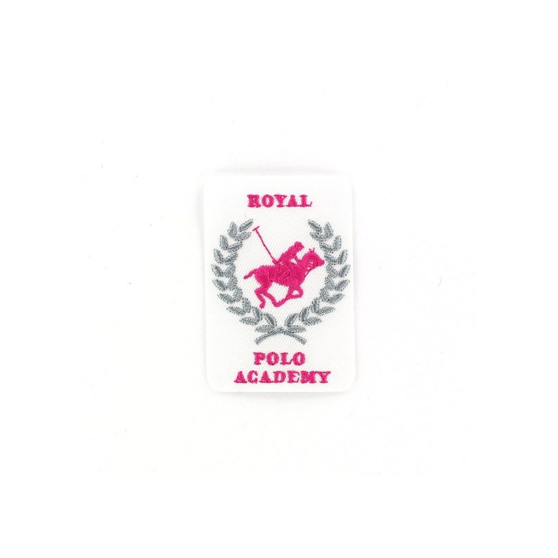 Thermocollant Royal Polo Academy Blanc Et Rose