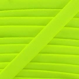 Elastique lingerie 10mm jaune fluo