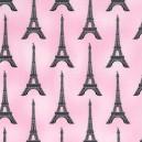 Tissu enduit Paris panache Blush x 10cm