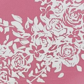 Tulle Floral pailletté or x 10cm