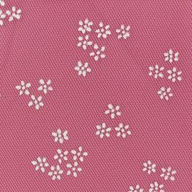 Tulle Floral pailletté argent x 10cm