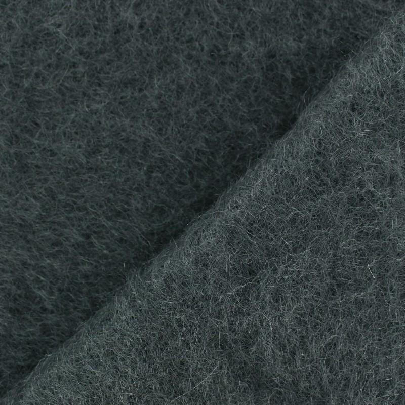 Tissu ankara mohair gris anthracite x 10cm ma petite mercerie - Tissu gris anthracite ...
