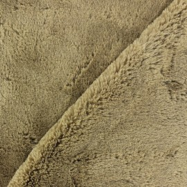 Softy fur - taupe x 10cm