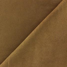 Tissu Suédine Volige sable x 10cm