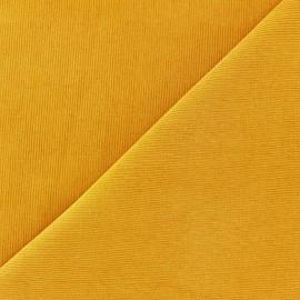 Tissu velours milleraies Melda 200gr/ml moutarde x10cm
