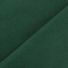 Tissu toile de coton uni CANEVAS V2 Vert prairie x 10cm