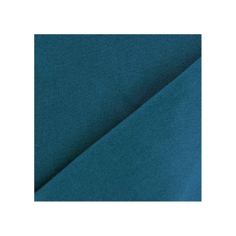 tissu toile de coton uni canevas bleu canard x 10cm ma petite mercerie. Black Bedroom Furniture Sets. Home Design Ideas