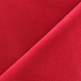 Tissu velours ras élasthanne ambre x 10cm