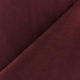 Tissu velours ras élasthanne orange x 10cm