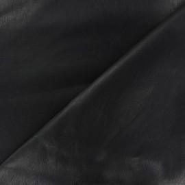 Simili cuir souple Zaina Charbon x 10cm
