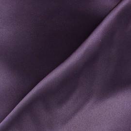 Tissu doublure aubergine V2 x 10cm