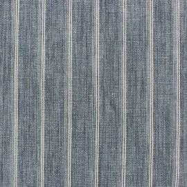 Tissu lin à rayures Wallin Vert d'eau x 10cm