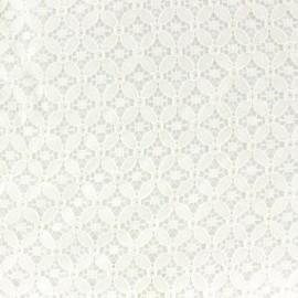 Tissu coton ajouré Scholl écru x 10cm
