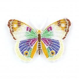 Thermocollant Papillon A Blanc